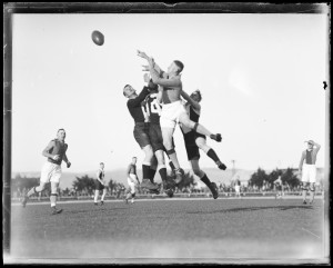 South v North at York Park 1933