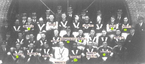 Victoria AFL team 1935