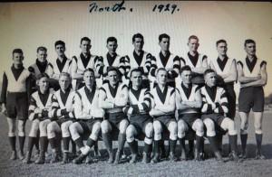 1929 North Rep Side Pat Hartnett front row on left