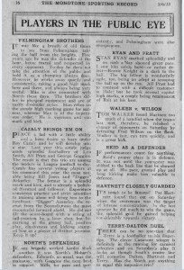 1933 Monotone Record article