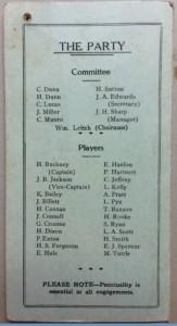 1933 Tassie Team