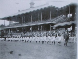 1933 Tassie Team Pat 8th in lineup