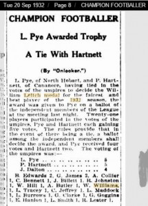 P Hartnett WLM Article 1932