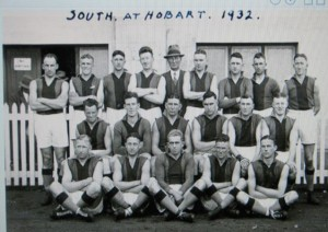 Pat - South @ Hobart 1932
