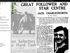 14-07-2016 Sporting Globe 1939 Pat Challis & Jack Charlesworth
