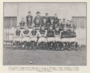 1932 Tas team v Vic