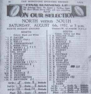 1932-north-v-south-monotone-record